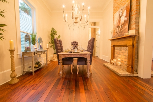 Bayou St. John Single Family Renovation Dining Room