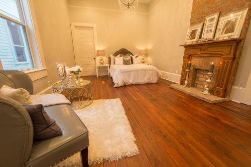 Bayou St. John Single Family Renovation Master Suite