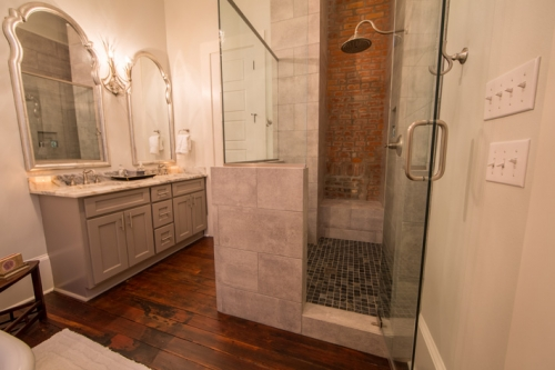 Bayou St. John Single Family Renovation Master Bath