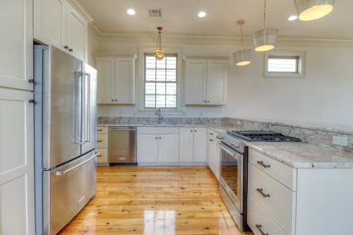 Irish Channel Greek Revival Single Family Residence kitchen