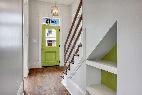 Entry with stairs