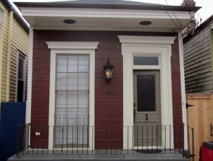 Marigny Shotgun Camelback Historic Renovation and Addition