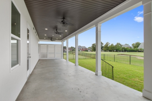 Gretna Single Family Porch overlooking Golf Course