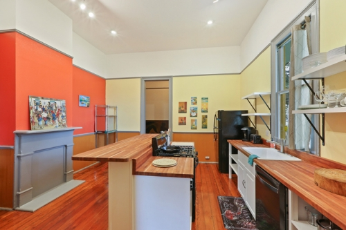 Kitchen in Historic Renovation