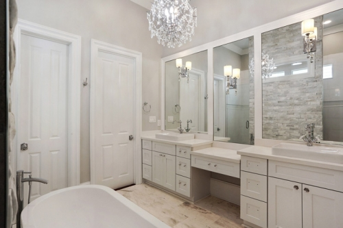 Uptown single family bathroom