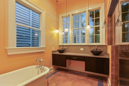 Master Bath with Enclosed Shower