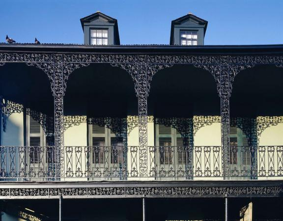New Orleans Ironwork by Carol Highstreet