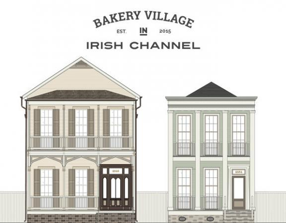 Bakery Village in the Irish Channel