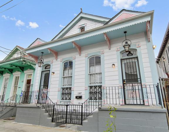 Treme Single Family Historic Renovation Exterior